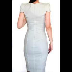 French Connection White Sheath Dress